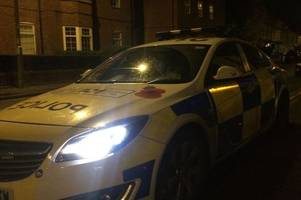 Two arrested after accident on Stoke-on-Trent street