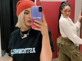Kylie Jenner Pulls For Travis Scott Astroworld Tour & Shares Another Stormi Pic