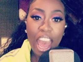 """missy elliott caves in & drops more singing bars: """"y'all know i'm no singer so don't clown me"""""""