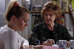 coronation street bombshell as rita sullivan set to lose shop to old pal