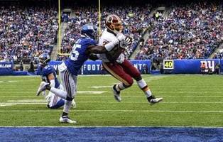 Redskins cling to hope and face Giants with Mark Sanchez at the helm