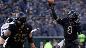 with trump in attendance, army beats navy for 3rd straight time