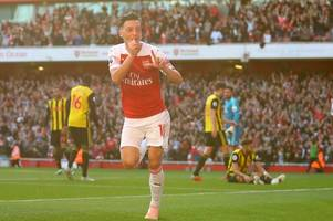 Mesut Ozil issues injury update ahead of Arsenal's games against Qarabag and Southampton