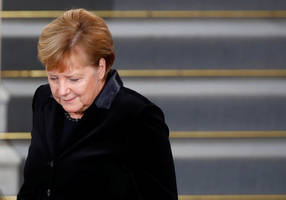 merkel's party rejects freeze of funds for palestinian terrorism
