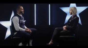 Dak Prescott talks about the Cowboys-Eagles rivalry and Dallas' acquisition of Amari Cooper