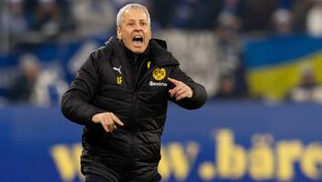 lucien favre insists borussia dortmund 'deserved' revierderby win as jadon sancho downs schalke