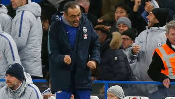 Maurizio Sarri Claims Chelsea Deserved Win in Stunning Victory Over 'Best Team in Europe' Man City