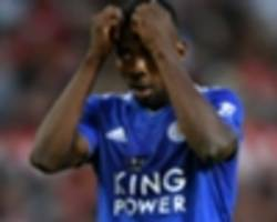 kelechi iheanacho firmly failing leicester city audition
