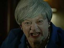 Andy Serkis revives his Gollum character in unflattering parody of Theresa May's Brexit deal