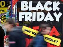High Streets are hit by online Black Friday as number of November shoppers falls