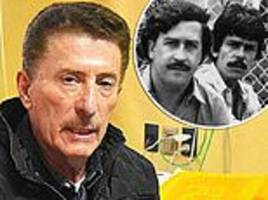 pablo escobar's old bolivian cocaine connect disputes that he is on the run