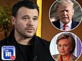 Russian pop star Emin Agalarov who set up Trump Tower meeting: It was 'useless'