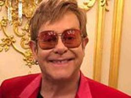 sir elton john reveals he only turns the tv on to watch the queen's speech at christmas