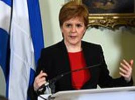 nicola sturgeon issues direct appeal to jeremy corbyn to topple the tories
