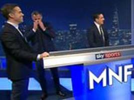 carragher mocks neville for selecting pogba in liverpool-man united xi