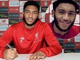 joe gomez signs improved five-and-a-half-year contract with liverpool