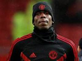 manchester united tell paul pogba he is staying put in january