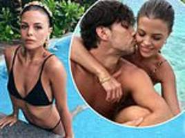 towie's chloe lewis shares swimwear snaps from magical maldives break with boyfriend danny flasher