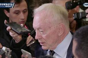 jerry jones talks jason garrett's risk taking in overtime | cowboys game night