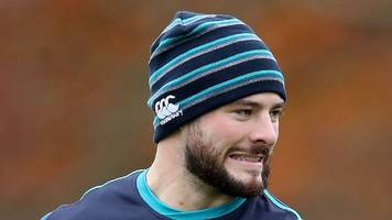 robbie henshaw: ireland likely to miss six nations opener against england