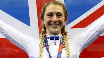 uci track world cup: laura kenny says she doesn't 'feel scared anymore'