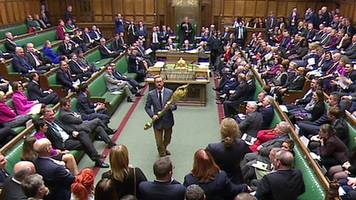 Commons stir as Labour MP picks up mace