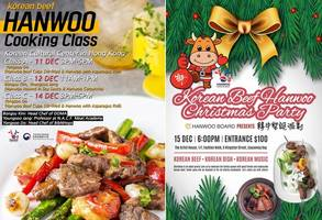 hanwooboard to host hanwoo cooking classes and hanwoo christmas party in yuletide season in hong kong