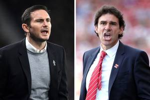 derby county boss frank lampard on nottingham forest's transfer business and the big game