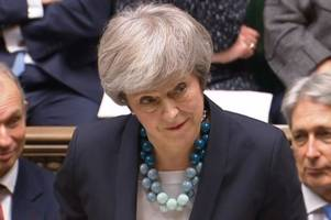 theresa may on why she has postponed the crunch brexit vote