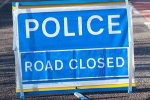 a17 closed in both directions after crash near boston