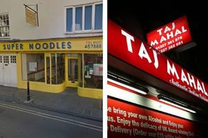The grim reasons these 4 Canterbury and Herne Bay takeaways and restaurants received 0-2 star food hygiene ratings
