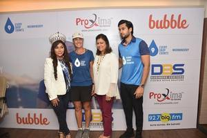 100 marathons in 100 days: thirst founder, mina guli concludes the indian marathon at mumbai