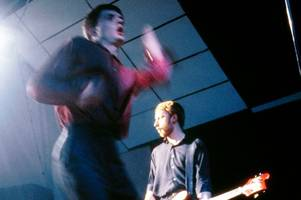 joy division icon on trashing glasgow hotel during boozy riot with buzzcocks' pete shelley