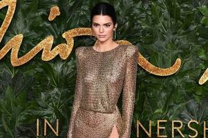 Kendall Jenner bares all in racy see-through dress at top fashion awards bash