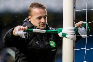 Leigh Griffiths taunts Rangers as Celtic star insists his toughest task at Ibrox is getting past the bouncers