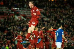 liverpool star andy robertson's transfer value rockets to astronomical amount