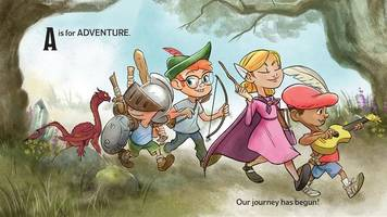 D&D children's books teach ABCs and 123s through the world of role-playing