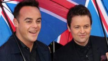 Ant McPartlin set to return to TV hosting in January for BGT