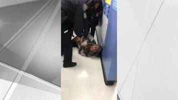Video showing officers trying to rip baby from mom's arms called 'troubling'