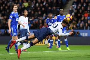 former premier league referee gives his verdict on dele alli's goal against leicester city