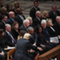 Why do so many Americans adore Michelle Obama? She keeps it real (even at a funeral)