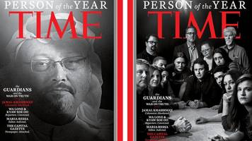 khashoggi a time 'person of the year'