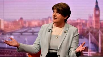 arlene foster: up to rhi inquiry to decide if i was in a position to do anything to avoid disastrous outcome