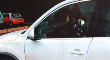 thieves snared less than two hours after smash-and-grab robbery in forest park