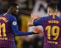 Barcelona equal Bayern's Champions League record in Spurs stalemate