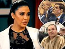 El Chapo's wife gives rare interview saying she never saw him do anything illegal