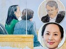 Huawei CFO 'will put up her HUSBAND, KIDS and two multi-million dollar homes as sureties for bail'