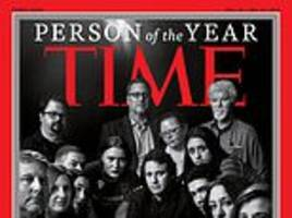 Jamal Khashoggi and other murdered and imprisoned journalists become Time's 2018 Person of the Year