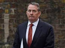 trade secretary liam fox hints that second brexit referendum could be on the table