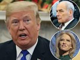 trump will keep john kelly as his chief of staff into the new year